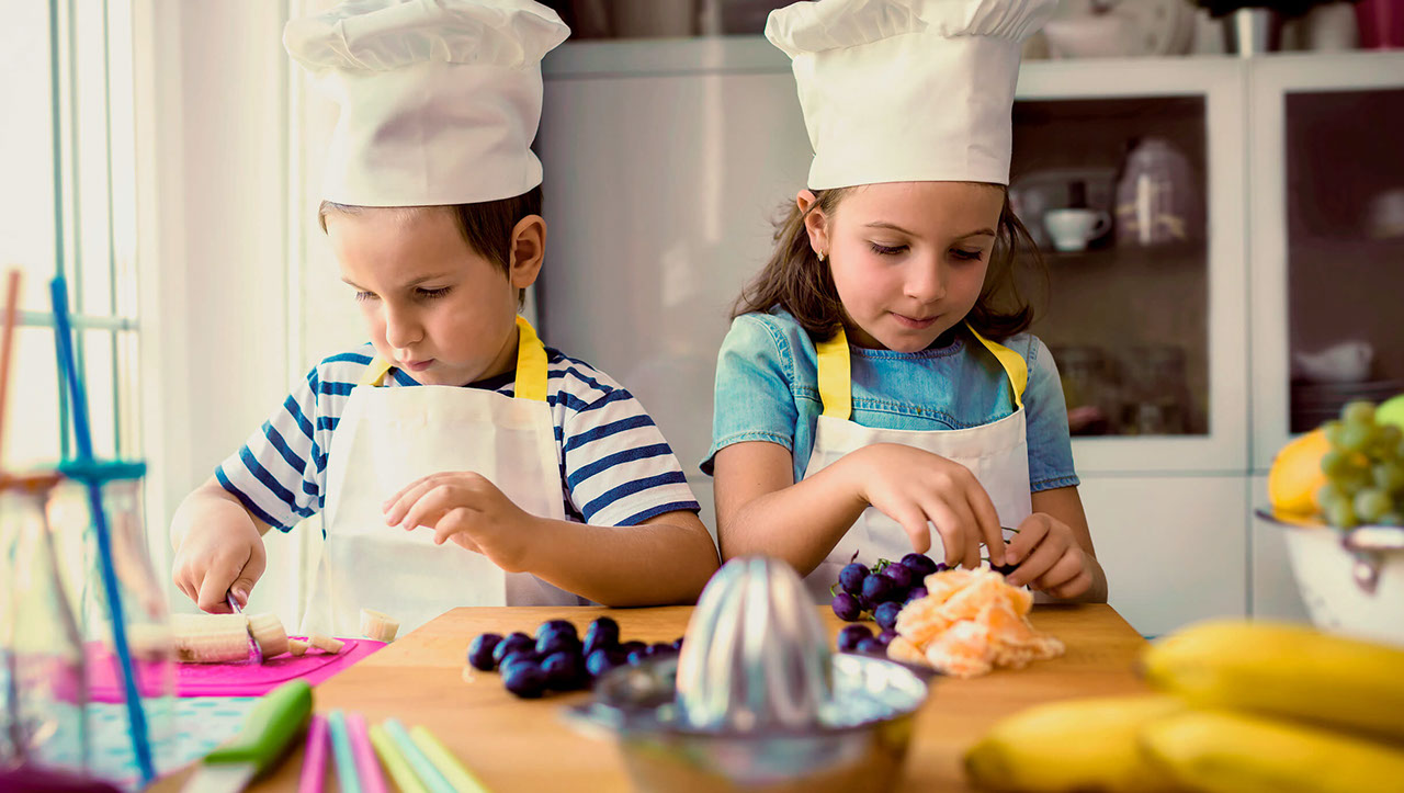 Party time! Kid's Party Activities with Healthy Food