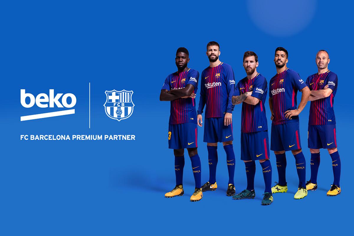 beko is official premium partner of fc barcelona official premium partner of fc barcelona