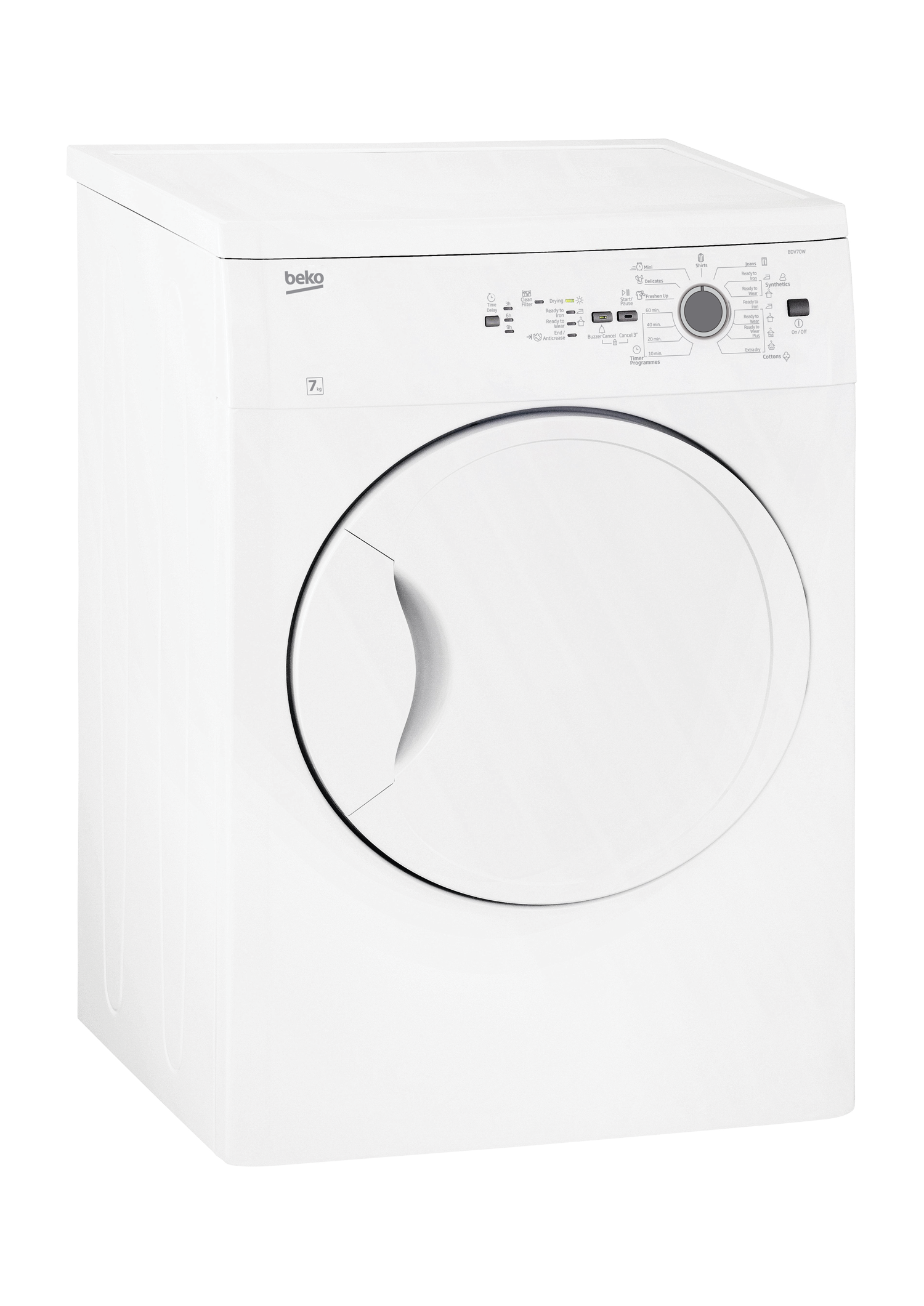 Tumble Dryer (Air Vented, 7 kg) BDV70W