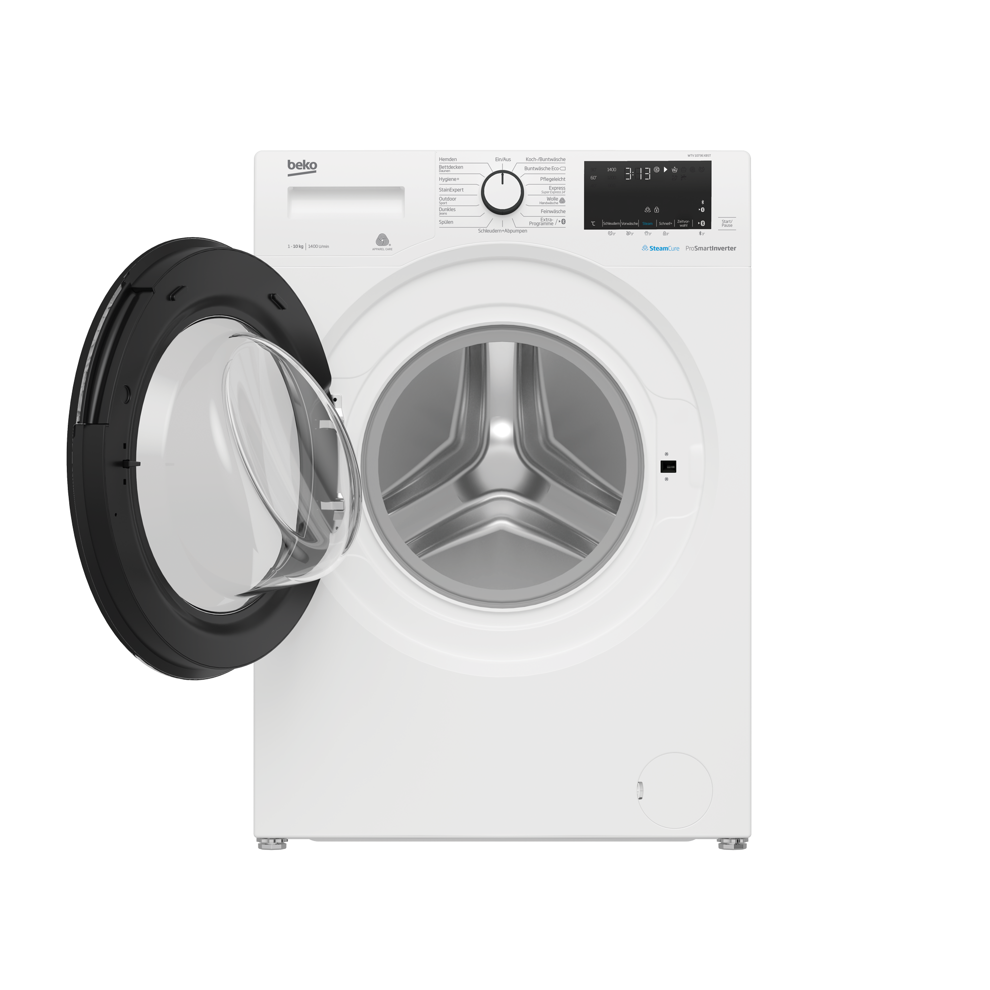 Freestanding Washing Machine (10 kg, 1400 rpm) WTV 10736 XBST