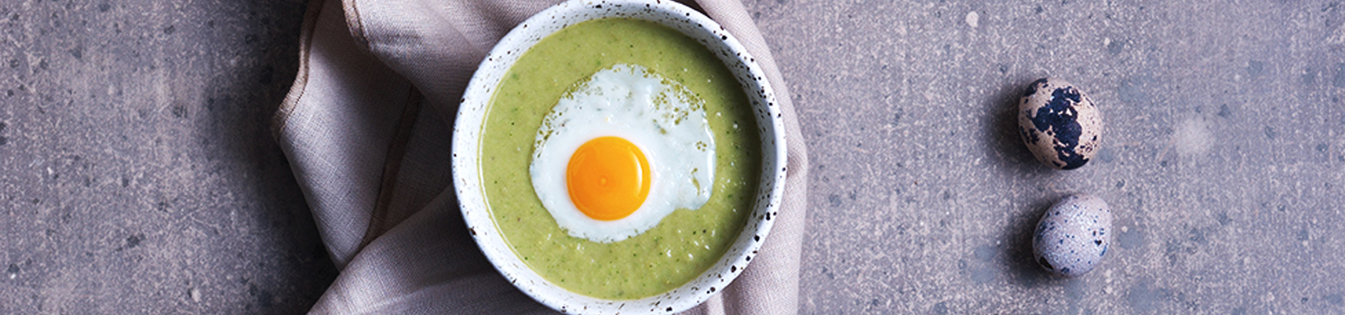 Cold Pea, Broccoli And Zucchini Soup | Eat Like A Pro