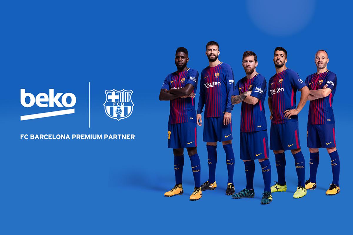 Beko Is Official Premium Partner Of Fc Barcelona