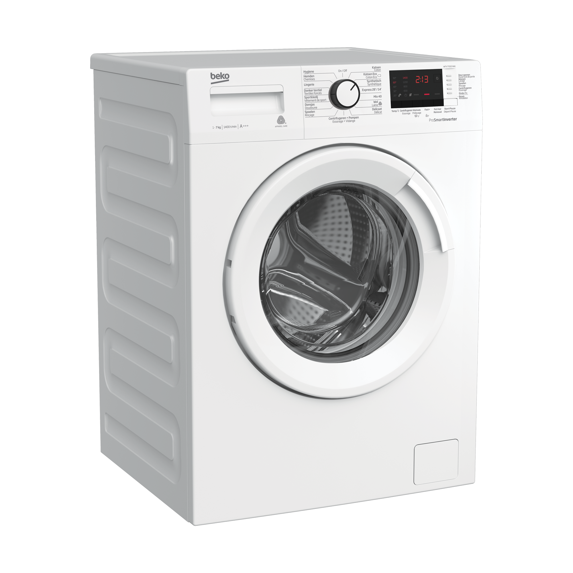Freestanding Washing Machine (7 kg, 1400 rpm) WTV 77222 XW1