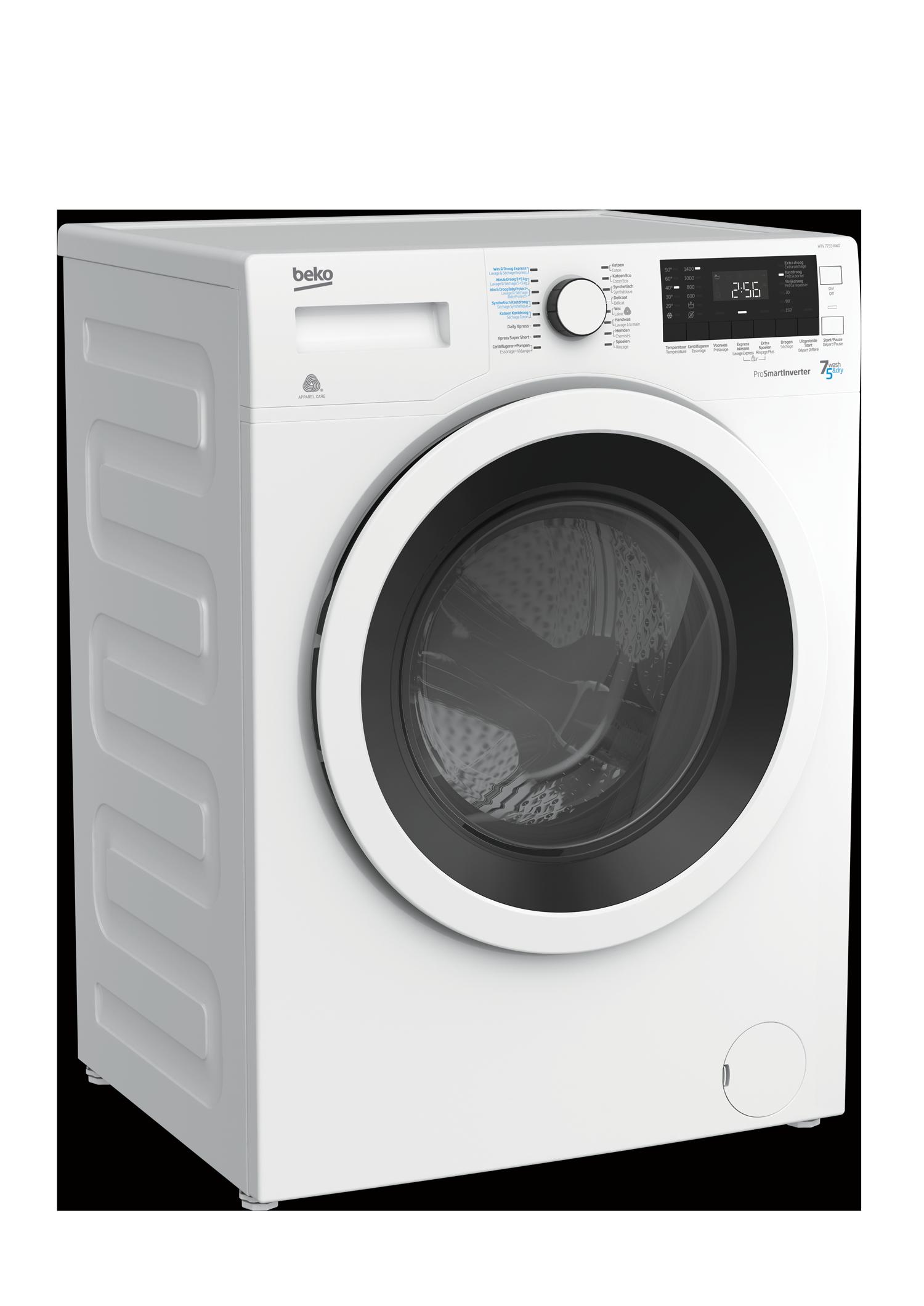 Machine À Laver Et Sèche Linge Intégré 7 kg lavage / 5 kg de séchage 1400 tr/min tr/min lave-linge