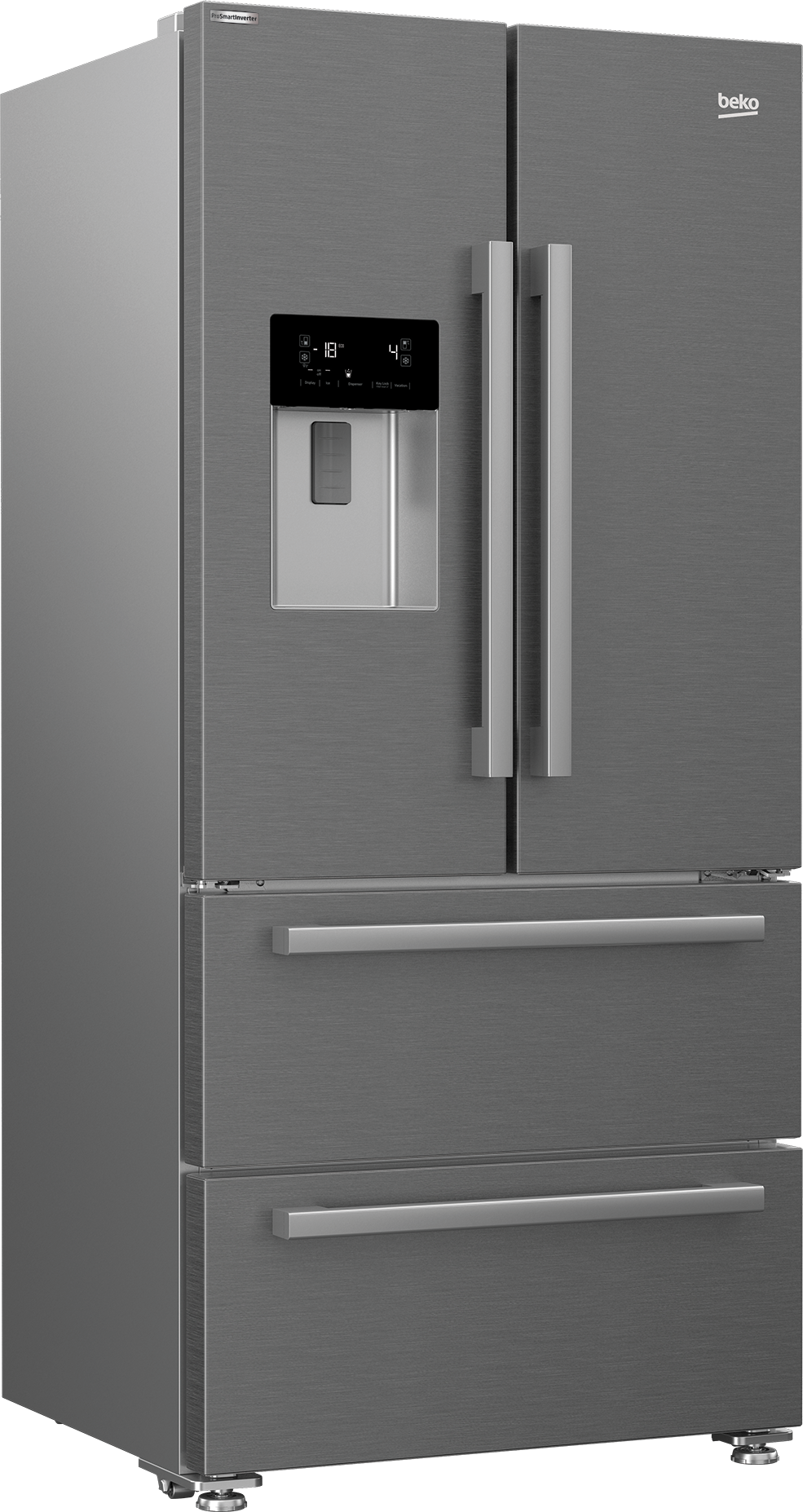 84 cm No-frost Multi-door Koelvries combinaties GNE60530DX