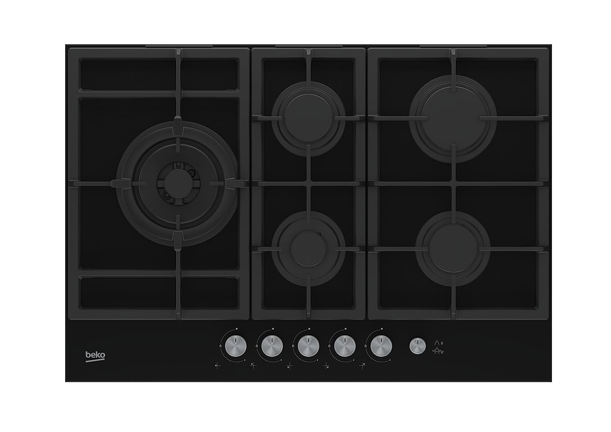 Hauteur De Hotte Pour Gaz 75 cm gaz table de cuisson encastrée ( 4 brûleurs à gaz et 1