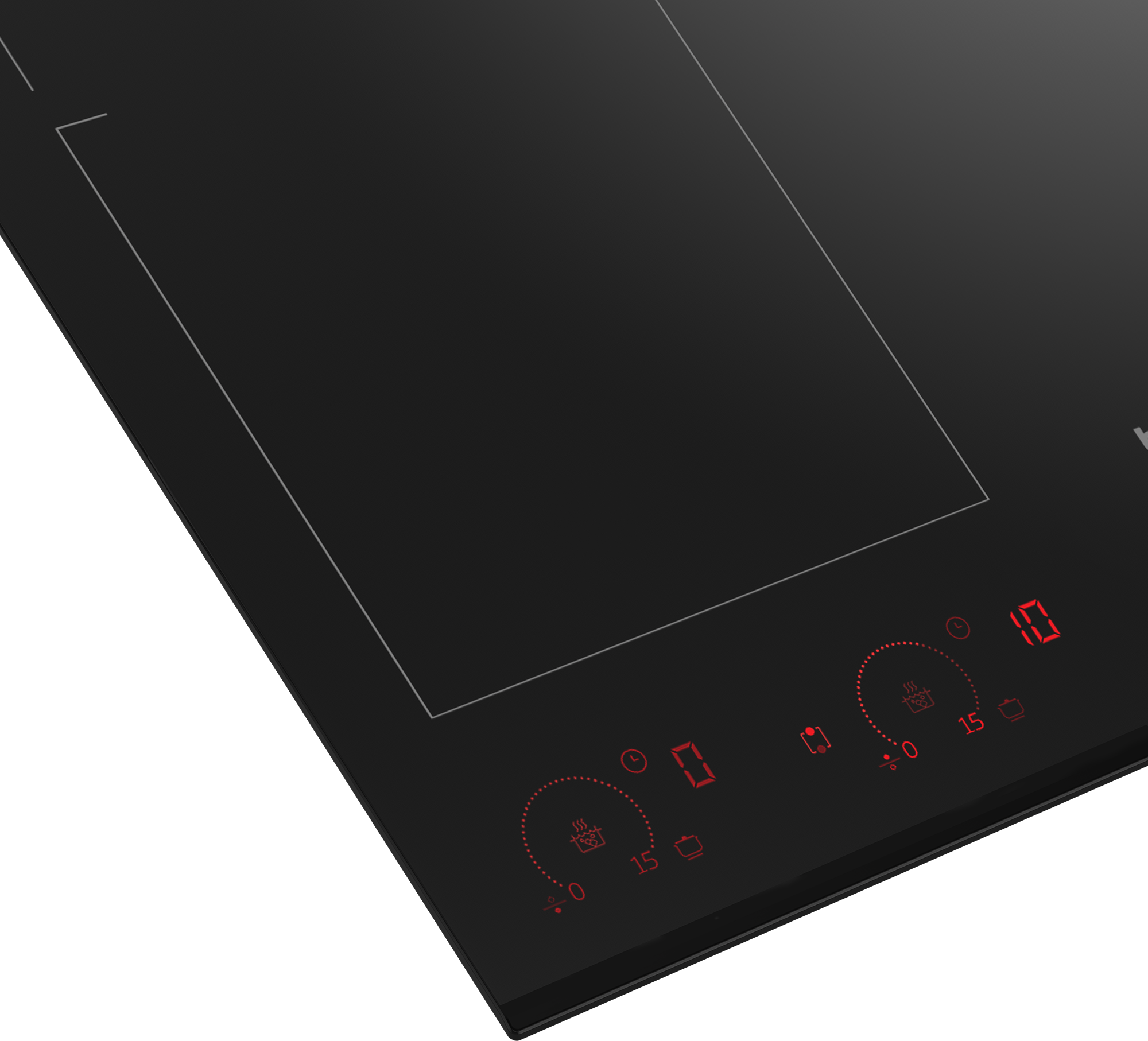 60 cm Induction Table de cuisson encastrée ( 4 zones à induction avec 1 Flexizone ) HII 64800 FHT