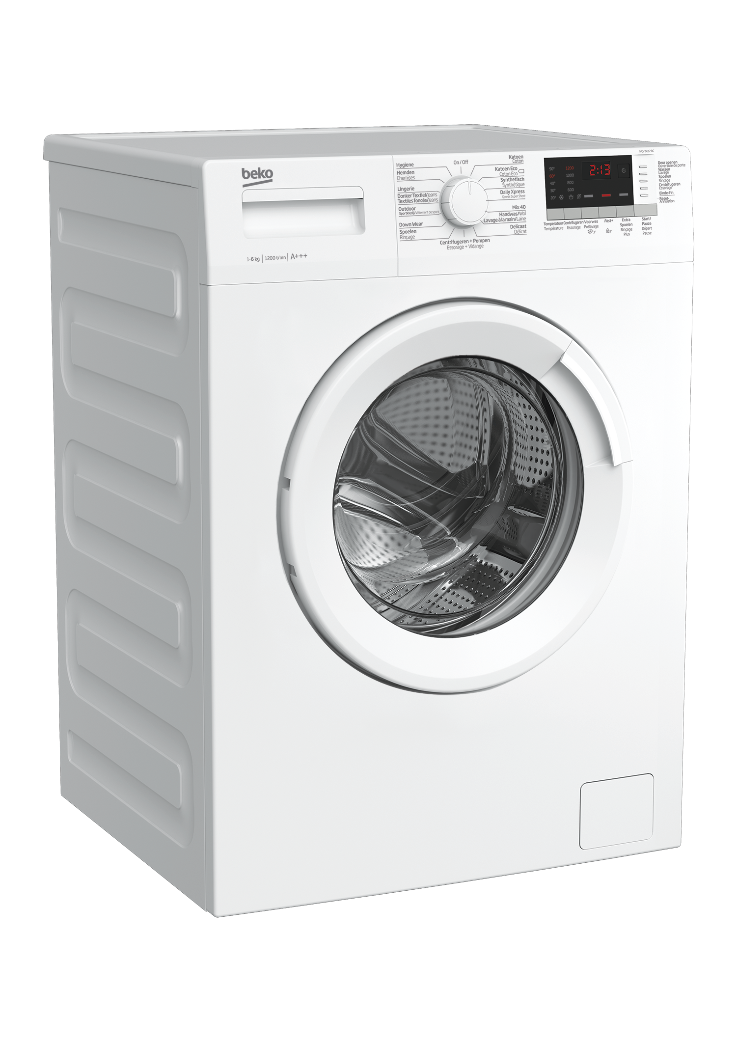 Freestanding Washing Machine (6 kg, 1200 rpm) WCV 6612 BC