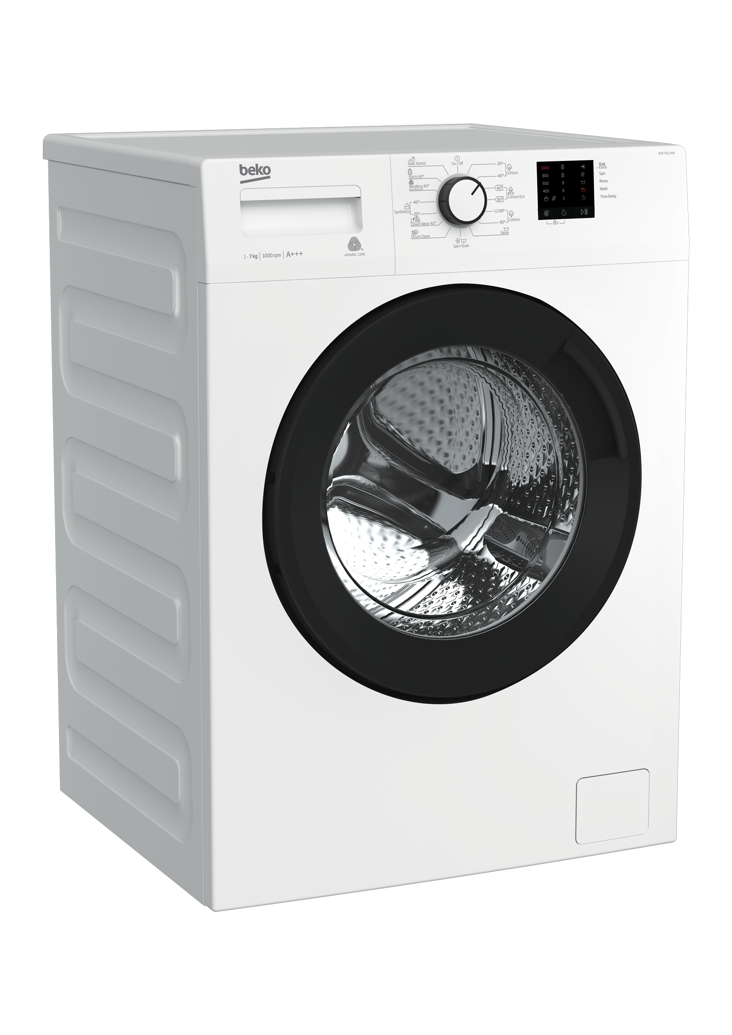 Freestanding Washing Machine (7 kg, 1000 rpm) WTE 7511 X0A