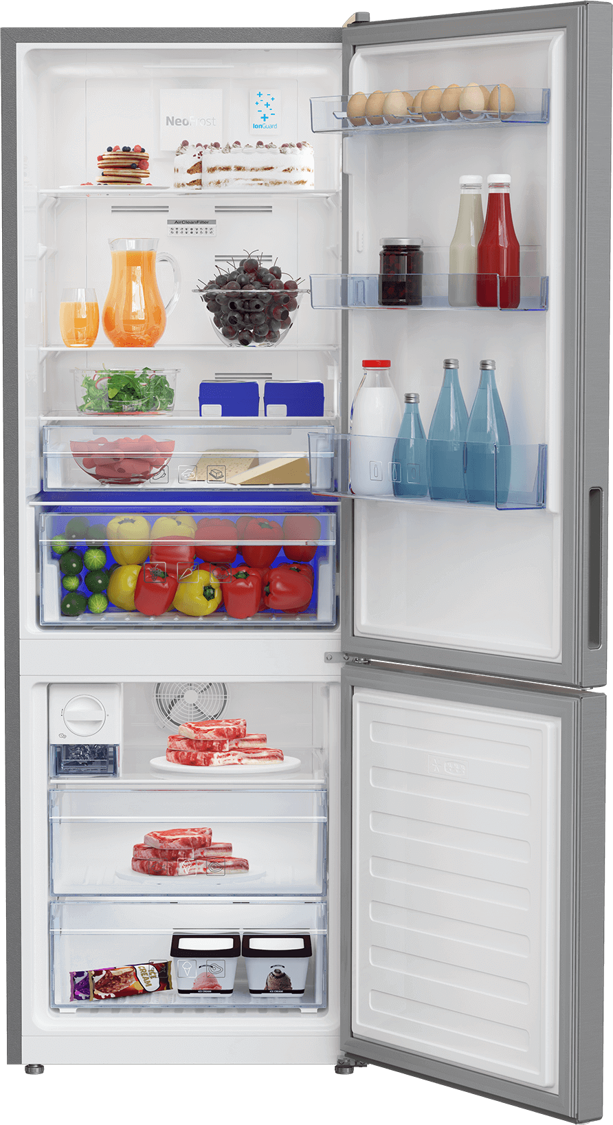Fridge Freezer (Freezer Bottom, 60 cm) RCNT340I50VP
