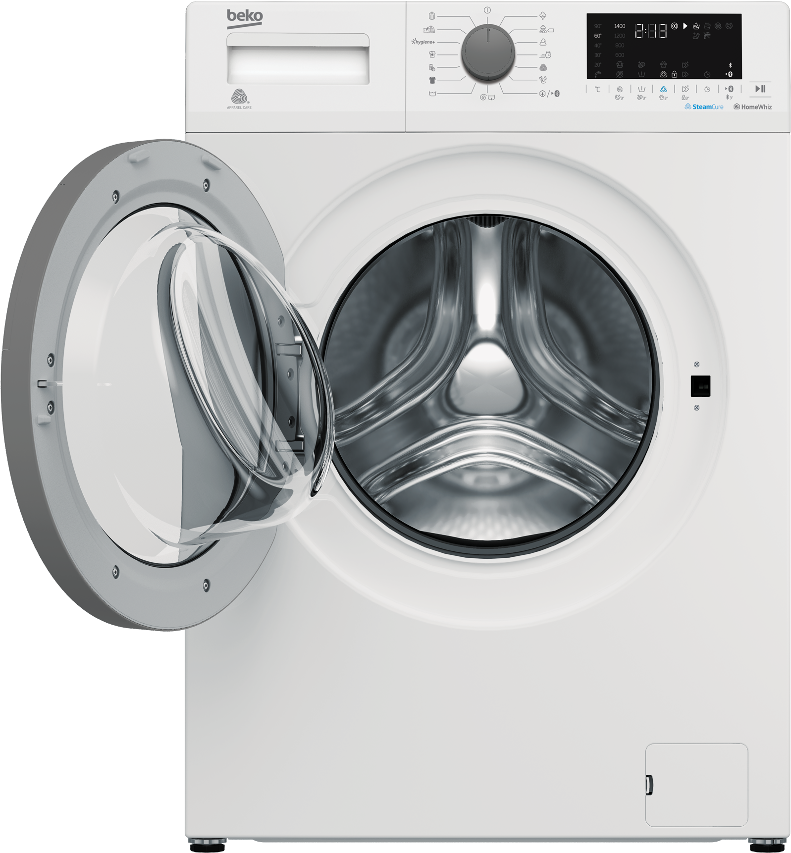 Freestanding Washing Machine (7 kg, 1400 rpm) EWTV7716XSPT