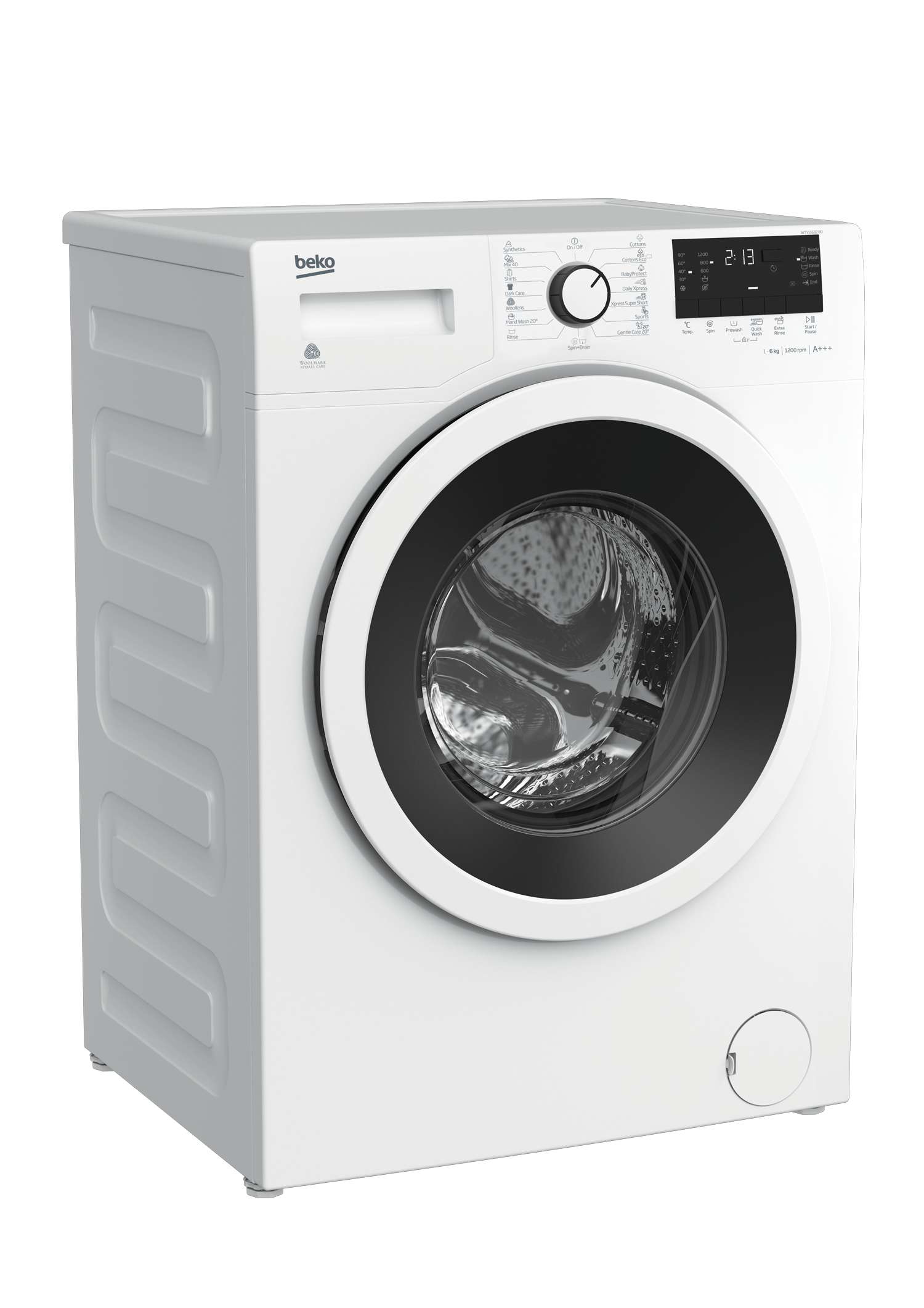 Freestanding Washing Machine (6 kg, 1200 rpm) WTV 6632 B0
