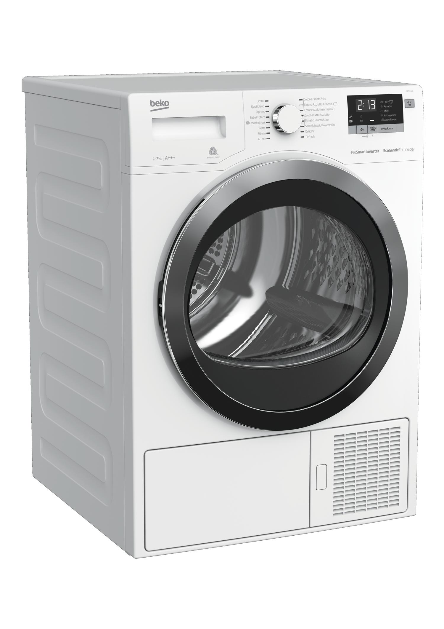 Cosa Non Mettere Nell Asciugatrice 7 kg pompa di calore asciugatrice | dry733ci | beko