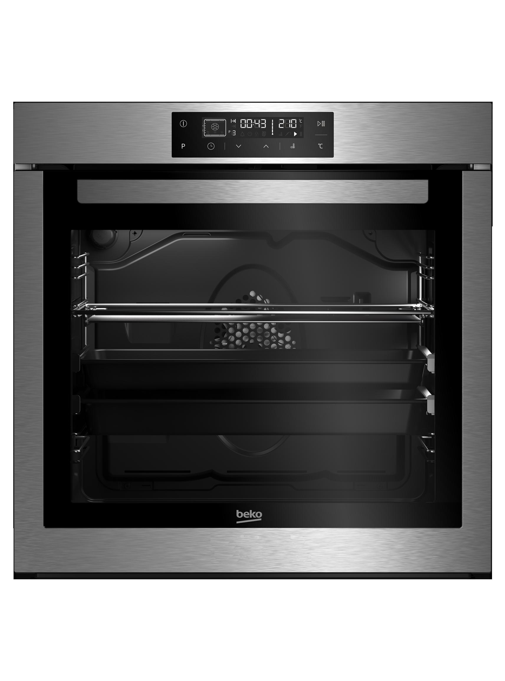 60 cm 82 L Multi-Funzione Forno da Incasso | BIR36400XOS | BEKO