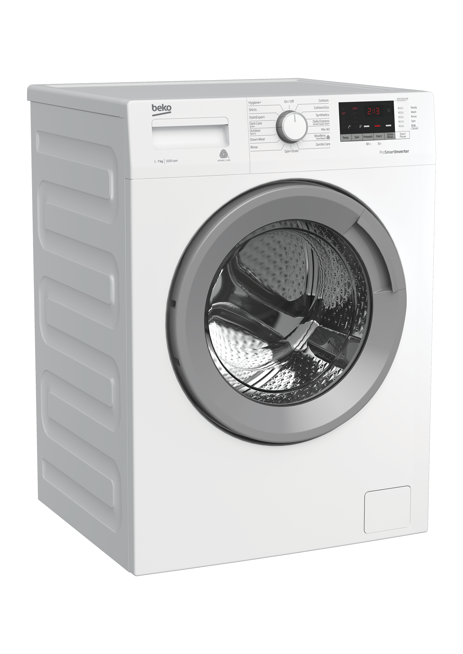 Freestanding Washing Machine (7 kg, 1000 rpm) WTE 7512 XS0