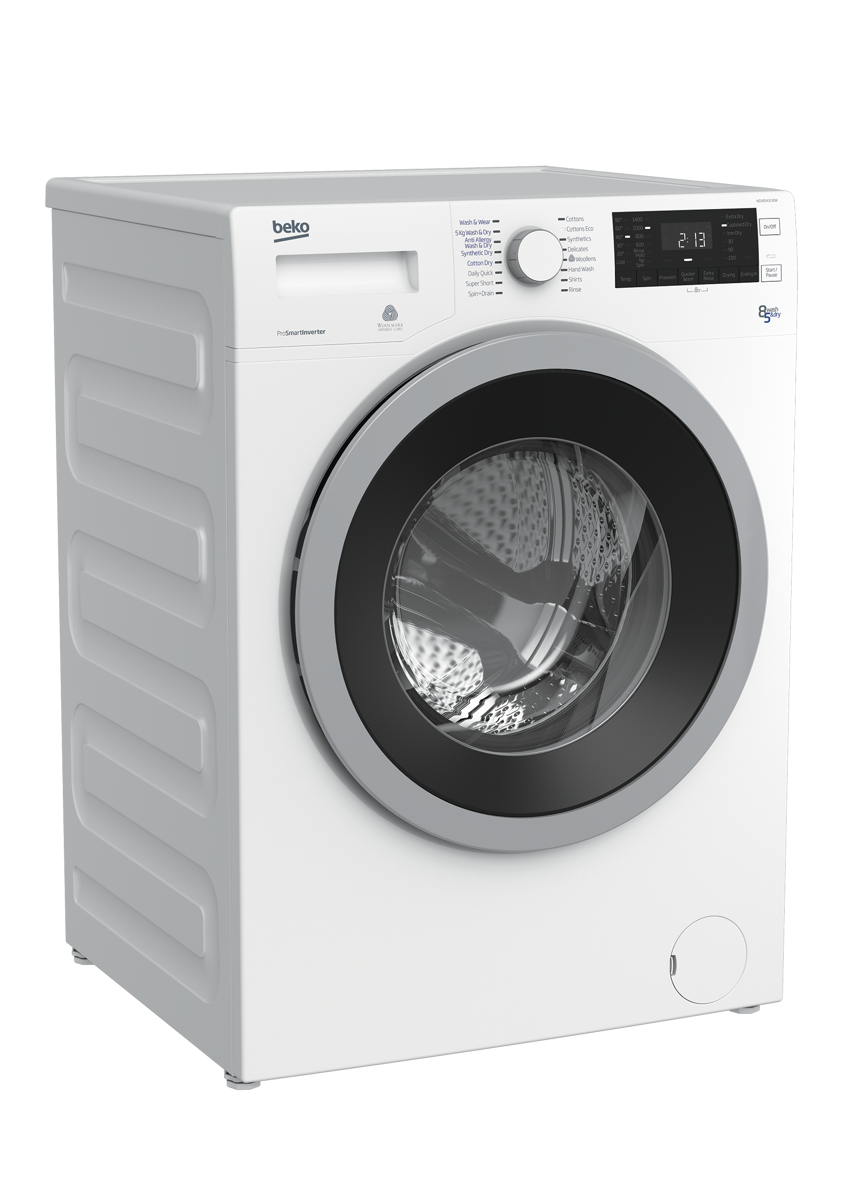 Freestanding Washer Dryer (8 kg / 5 kg, 1400 rpm) WDX8543130W