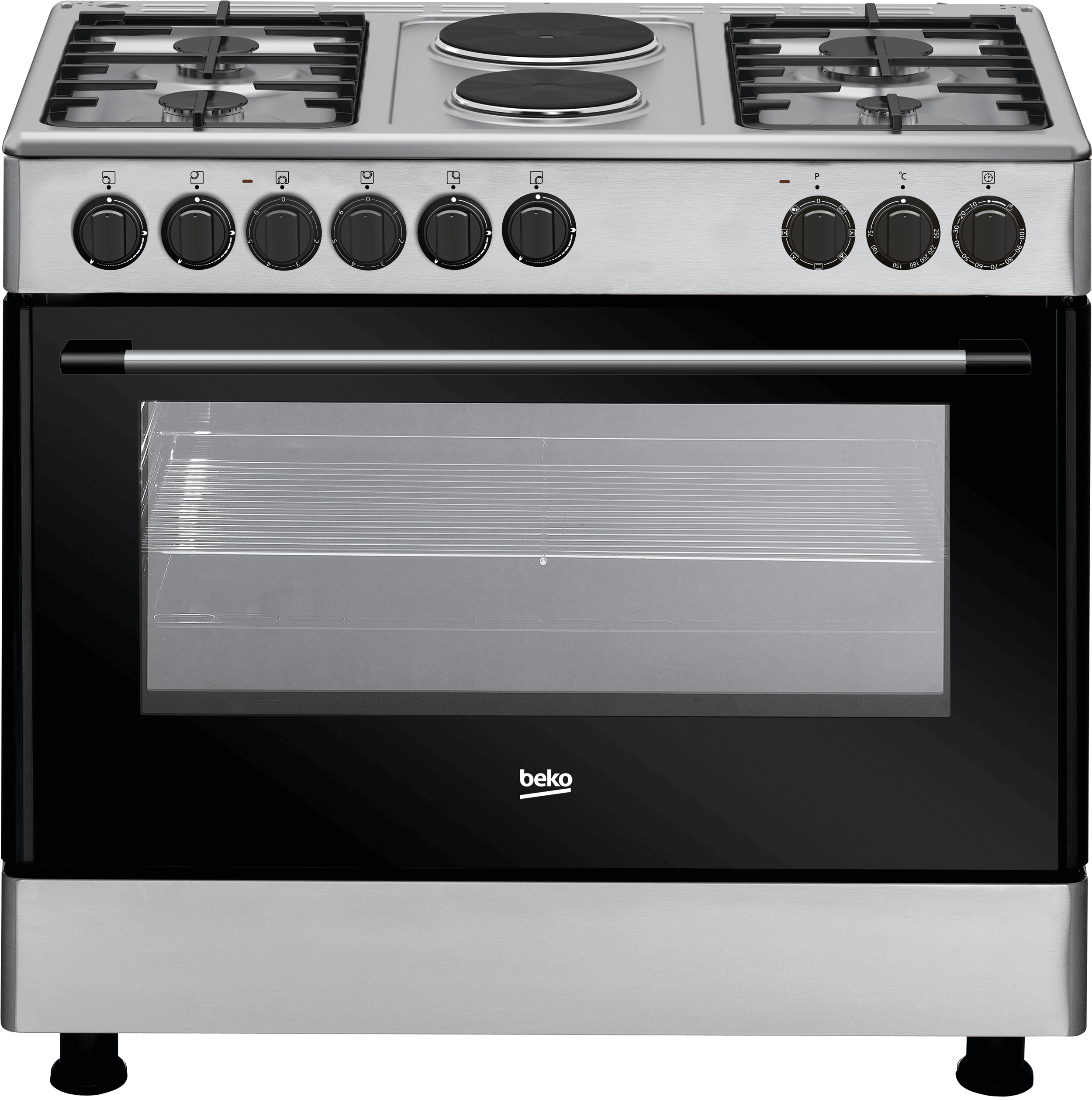 Freestanding Cooker (Fan-assisted, 90 cm) GE 12121 DX