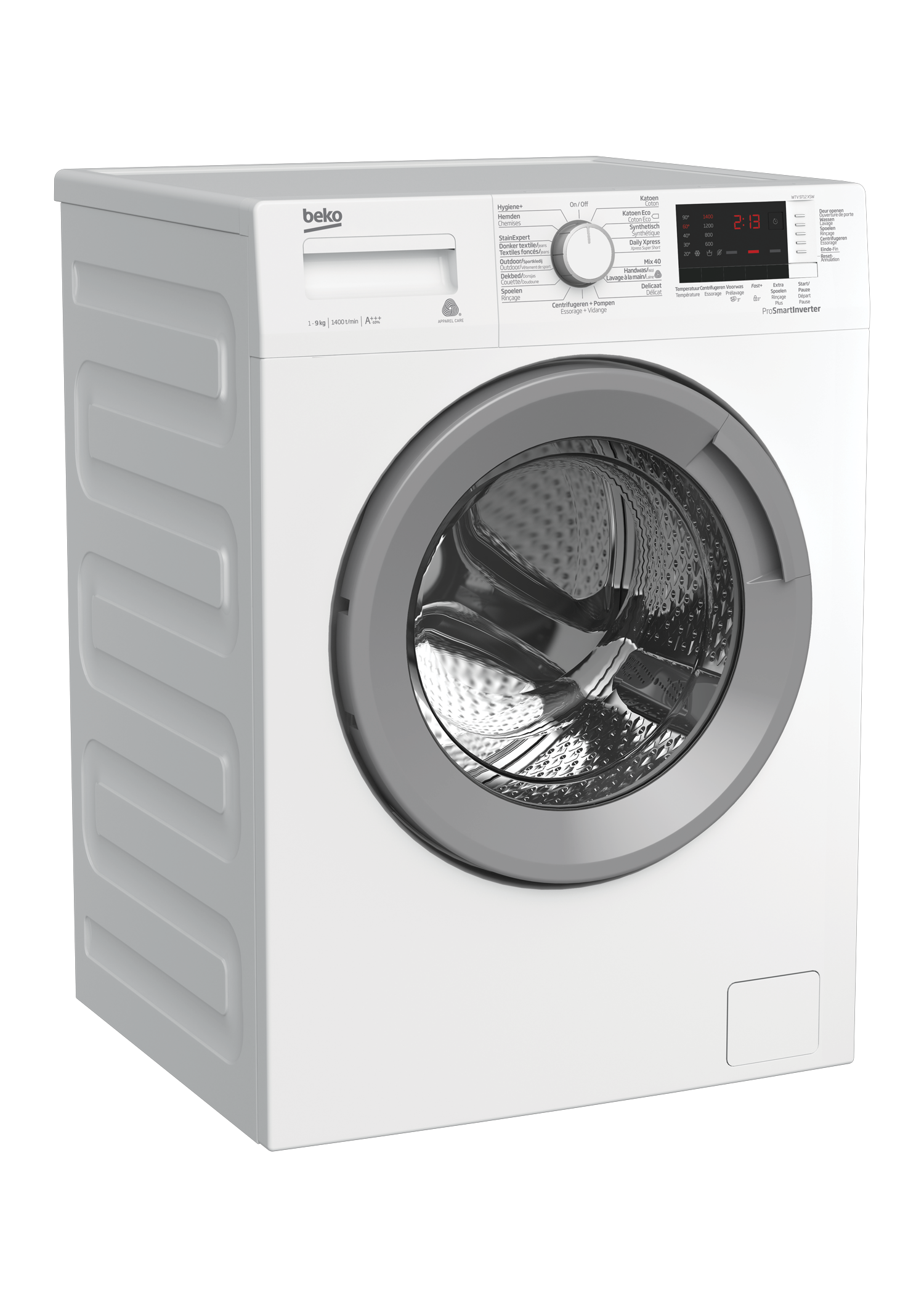 Freestanding Washing Machine (9 kg, 1400 rpm) WTV9712XSW