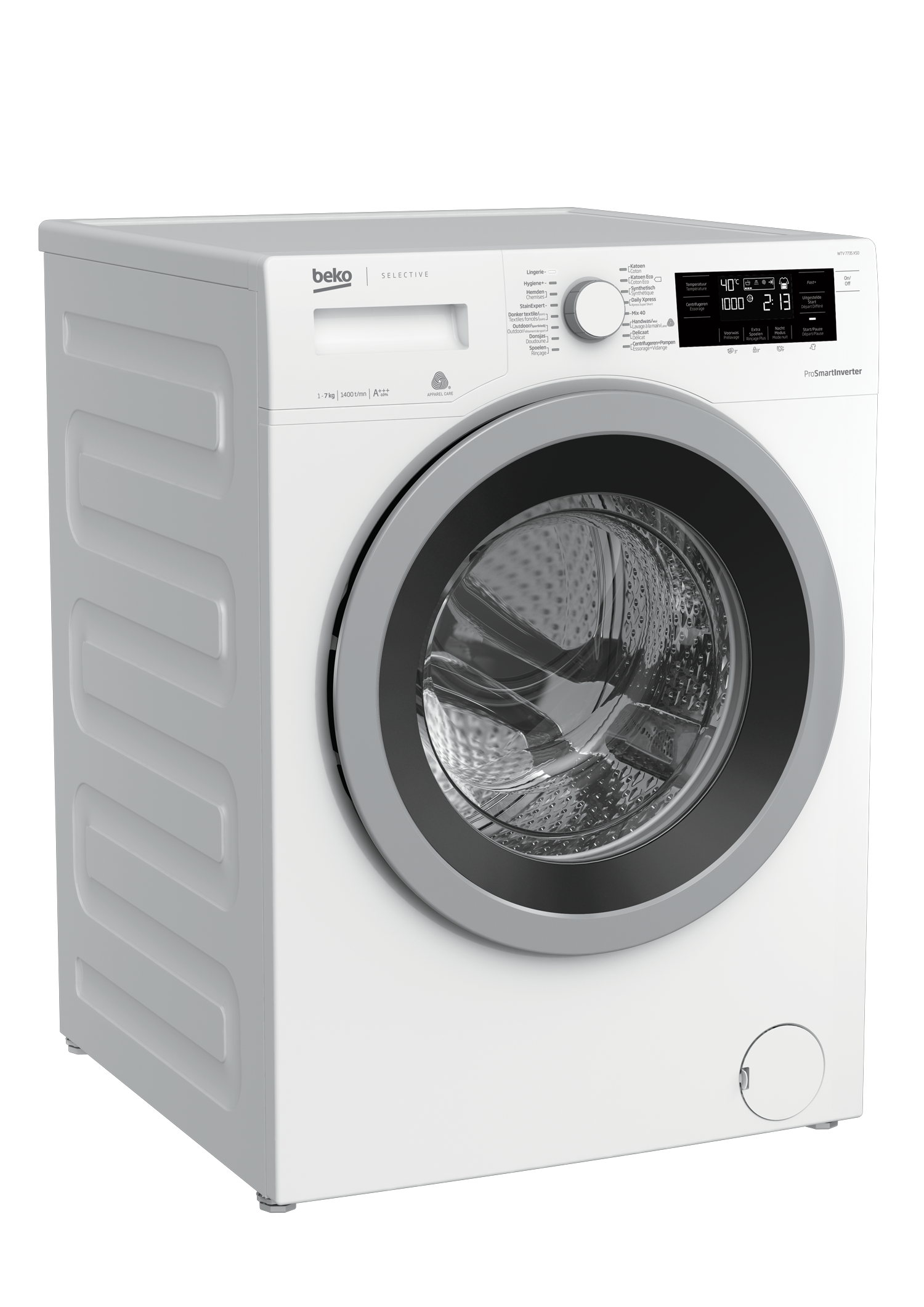 Freestanding Washing Machine (7 kg, 1400 rpm) WTV 7735 XS0