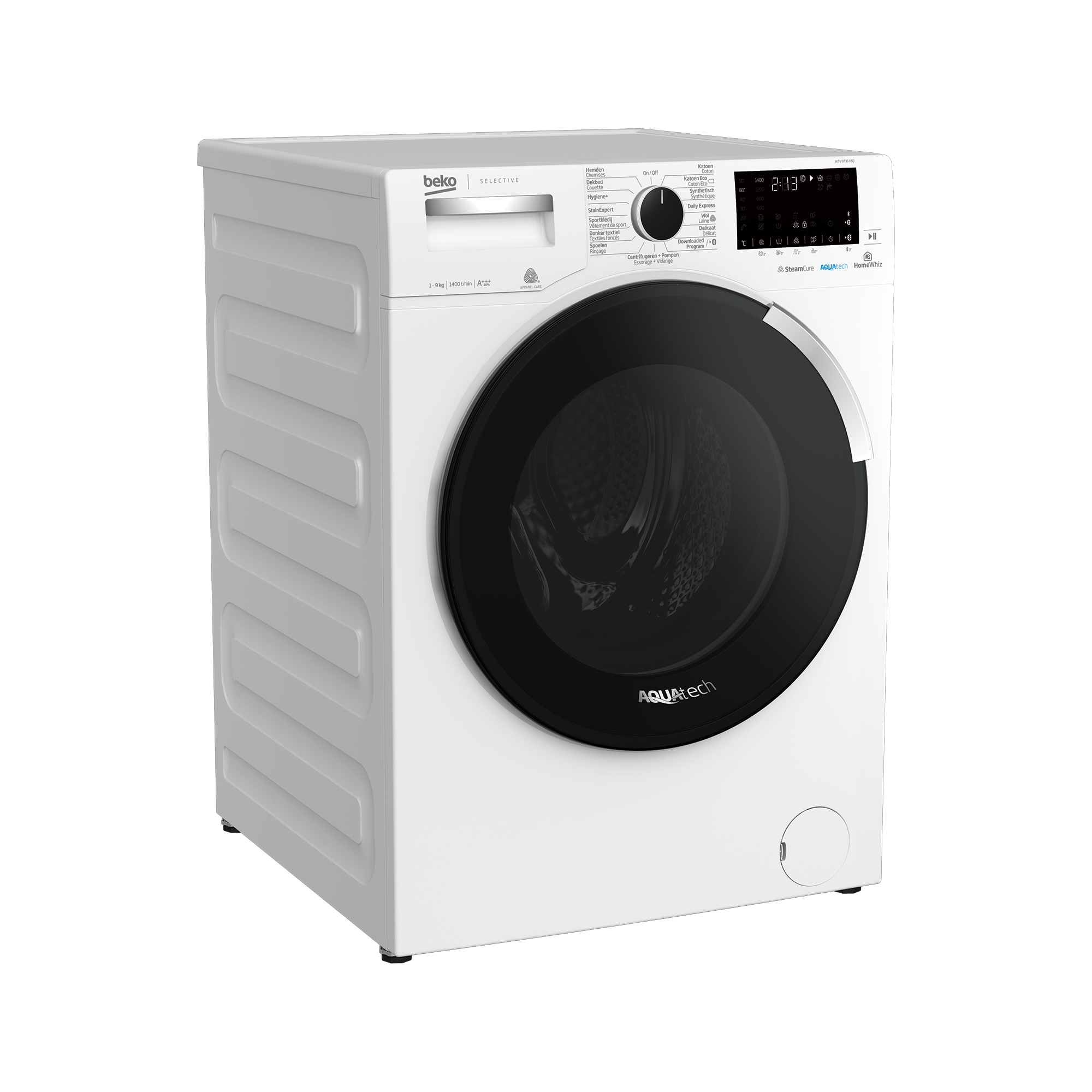 Freestanding Washing Machine (9 kg, 1400 rpm) WTV 9736 XSQ