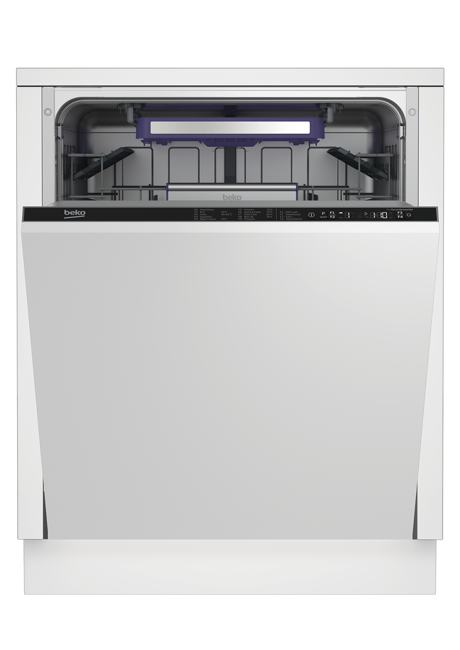 Integrated Dishwasher (14 place settings, Full-size) DIN38450