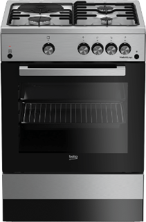 Freestanding Cooker (Gas, 60 cm) FSGT63010GX