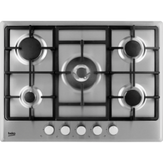 Built-In Hob (Gas, 70 cm) HIMW 75225 SX