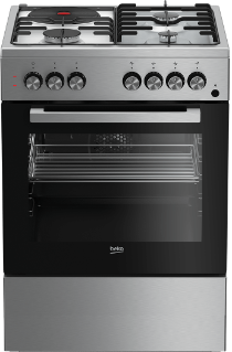 Freestanding Cooker (Fan-assisted, 60 cm) FSET63110DX