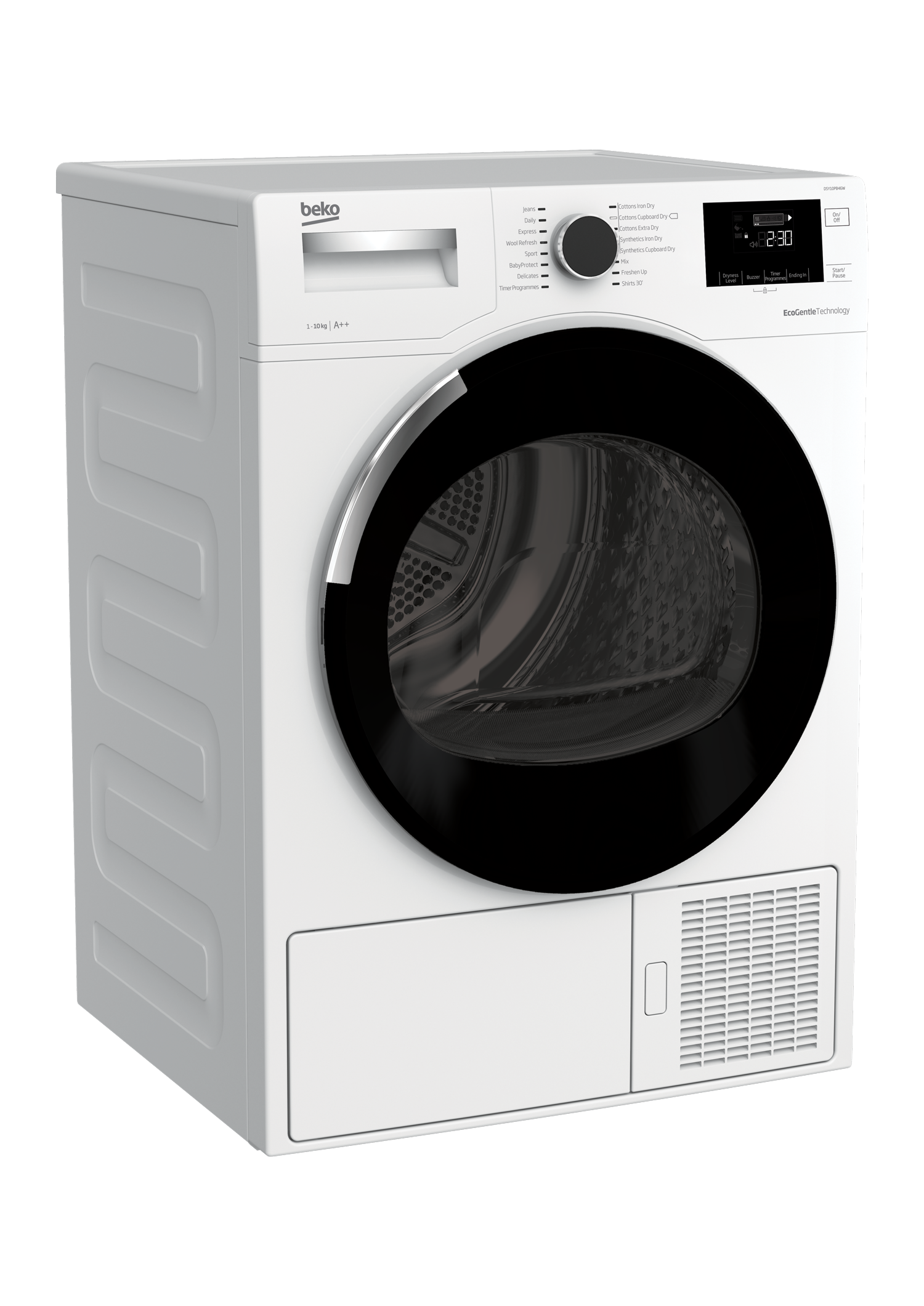 Tumble Dryer (Heat Pump, 10 kg) DSY10PB46W