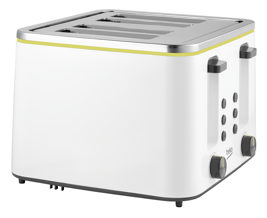 Toaster (1400 W, 4 Slot) TAM4341W - UK