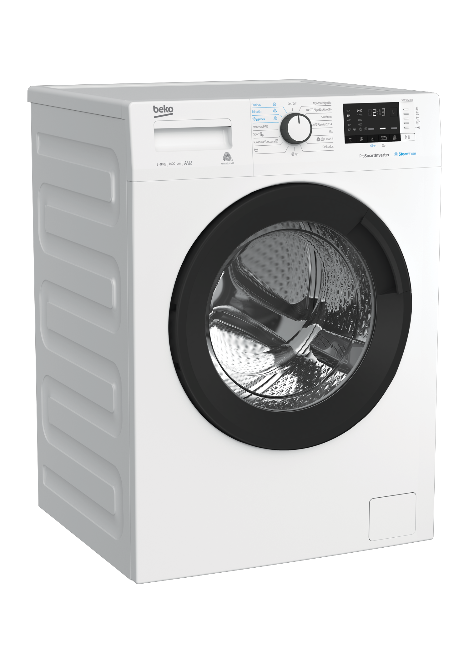 Freestanding Washing Machine (9 kg, 1400 rpm) WTA 9712 XSW