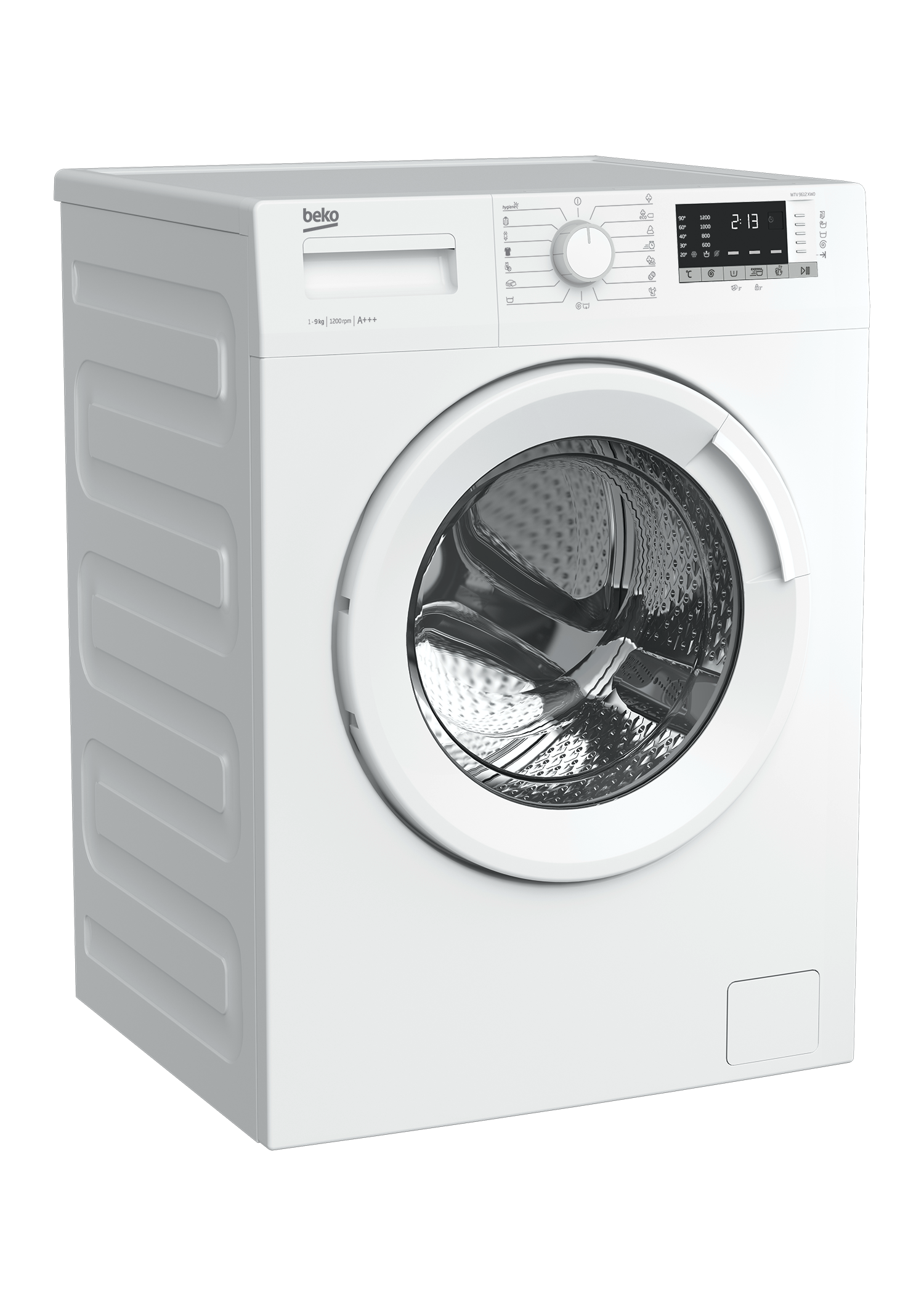 Freestanding Washing Machine (9 kg, 1200 rpm) WTV 9612 XW0