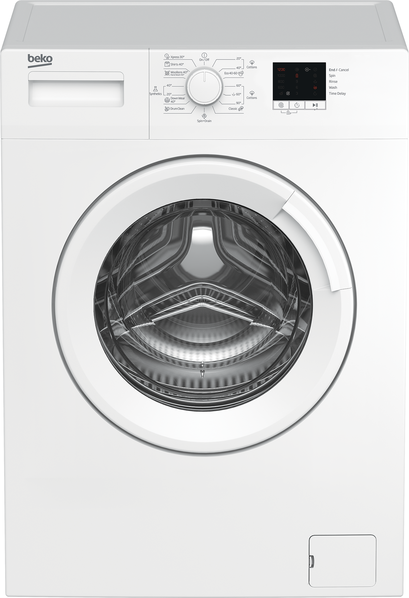 Freestanding Washing Machine (6 kg, 1200 rpm) WTE6611BW