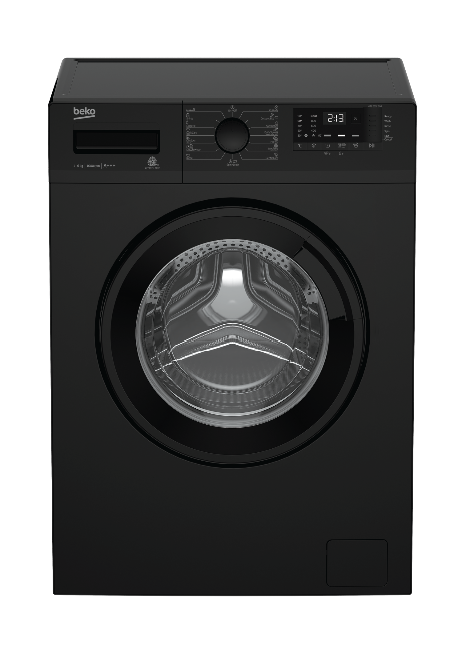 Freestanding Washing Machine (6 kg, 1000 rpm) WTE6512 B0B