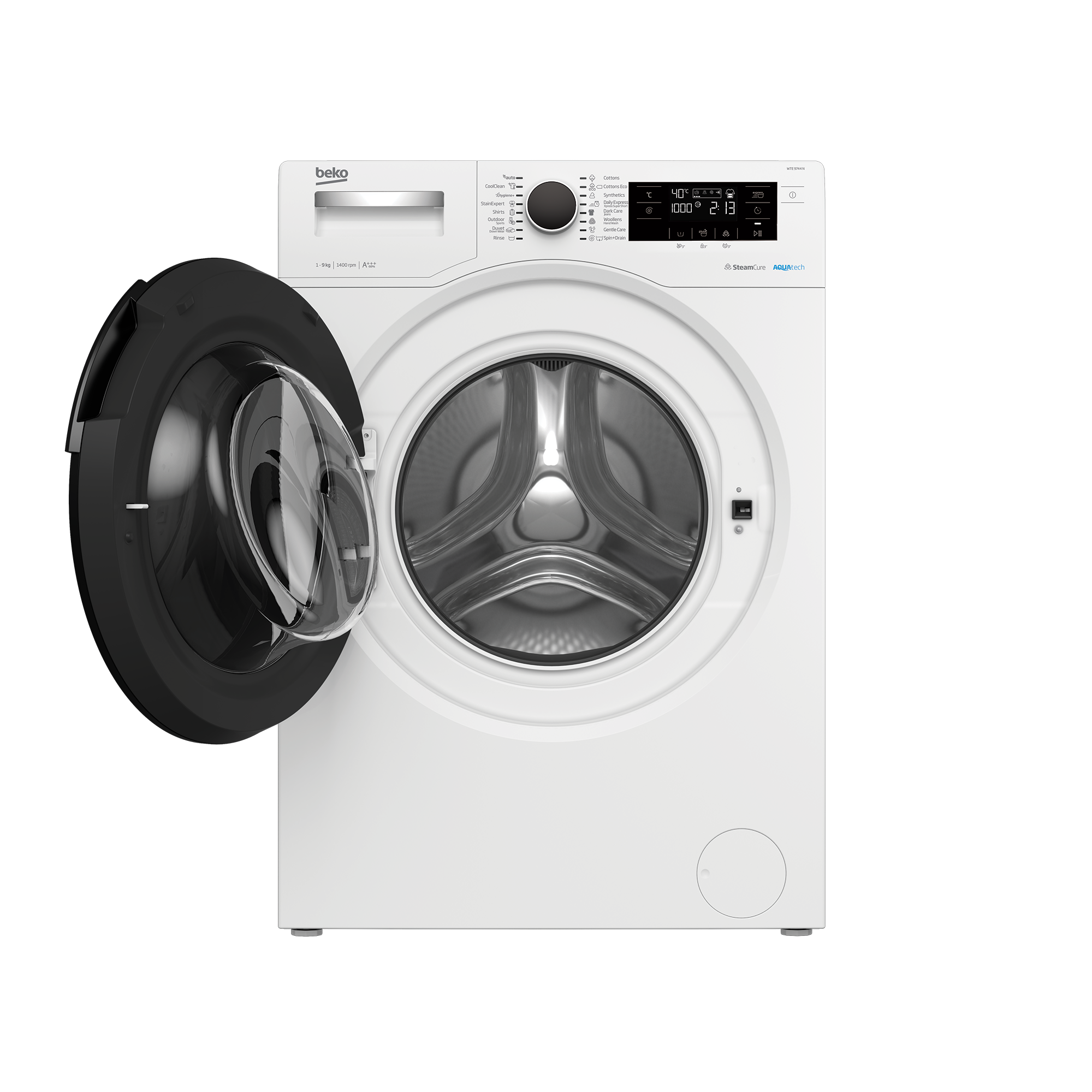 Freestanding Washing Machine (9 kg, 1400 rpm) WTE 9744 N