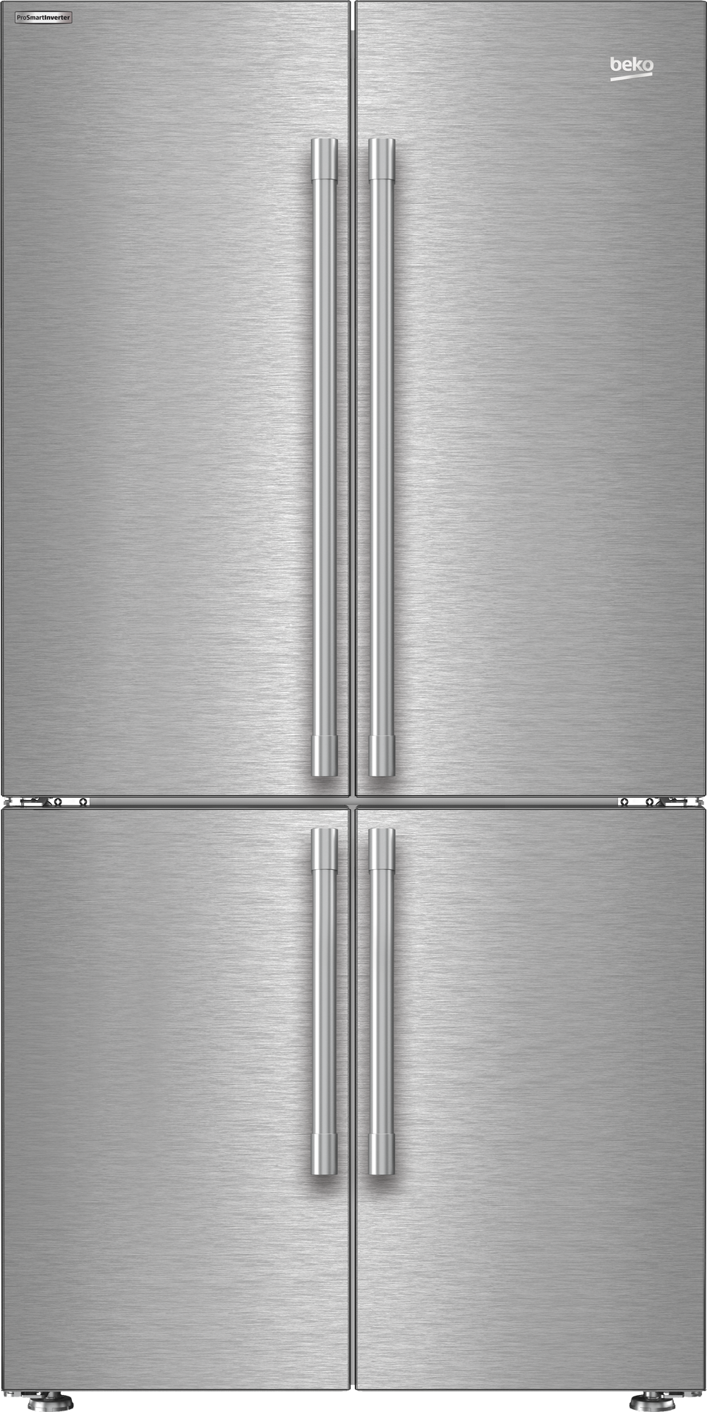 "36"" French Four-Door Stainless Steel Refrigerator with auto Ice Maker, Water Dispenser BFFD3626SS"