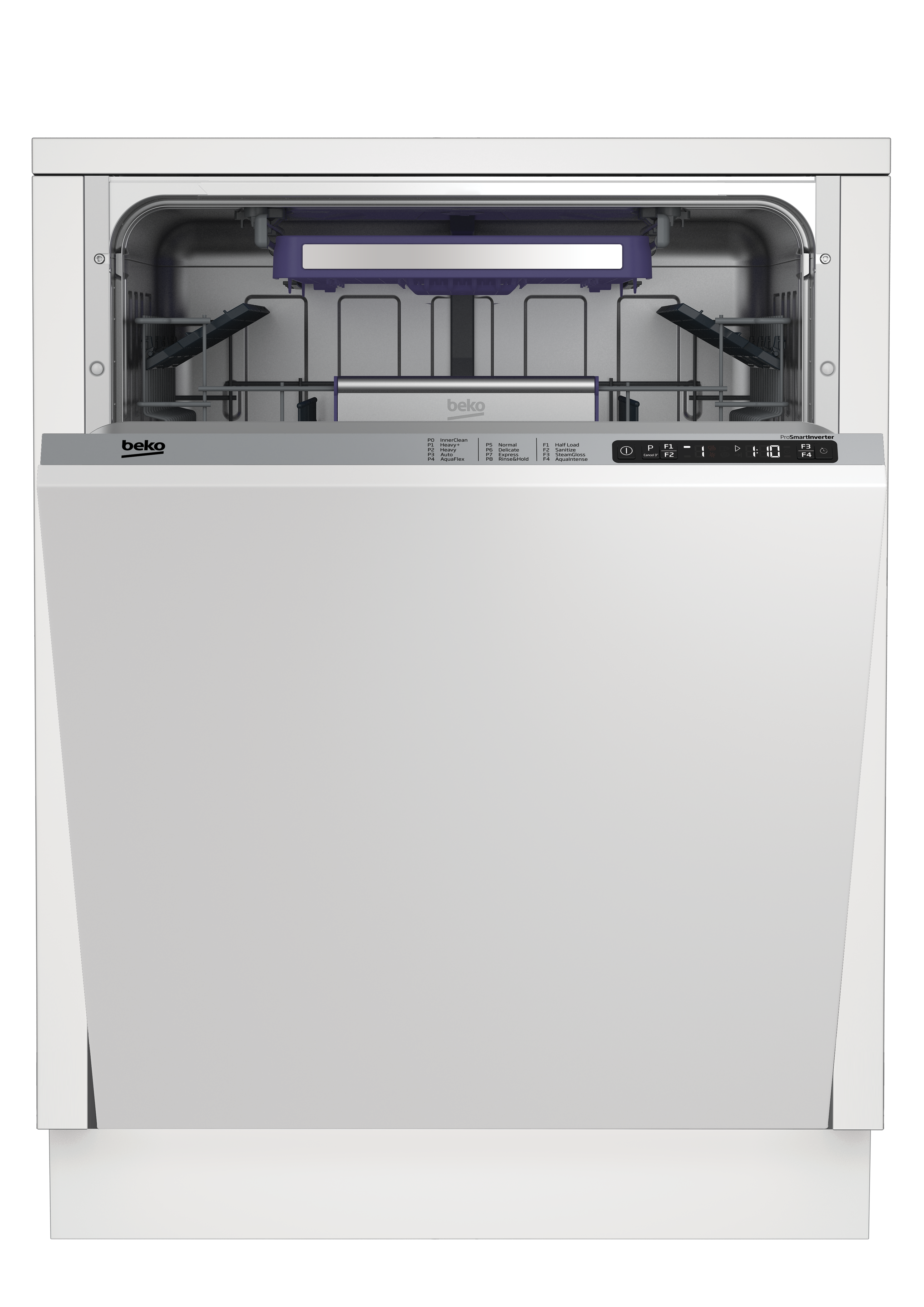 Tall Tub Dishwasher with 14 place settings, 45 dBa Fully integrated panel ready DIT28430
