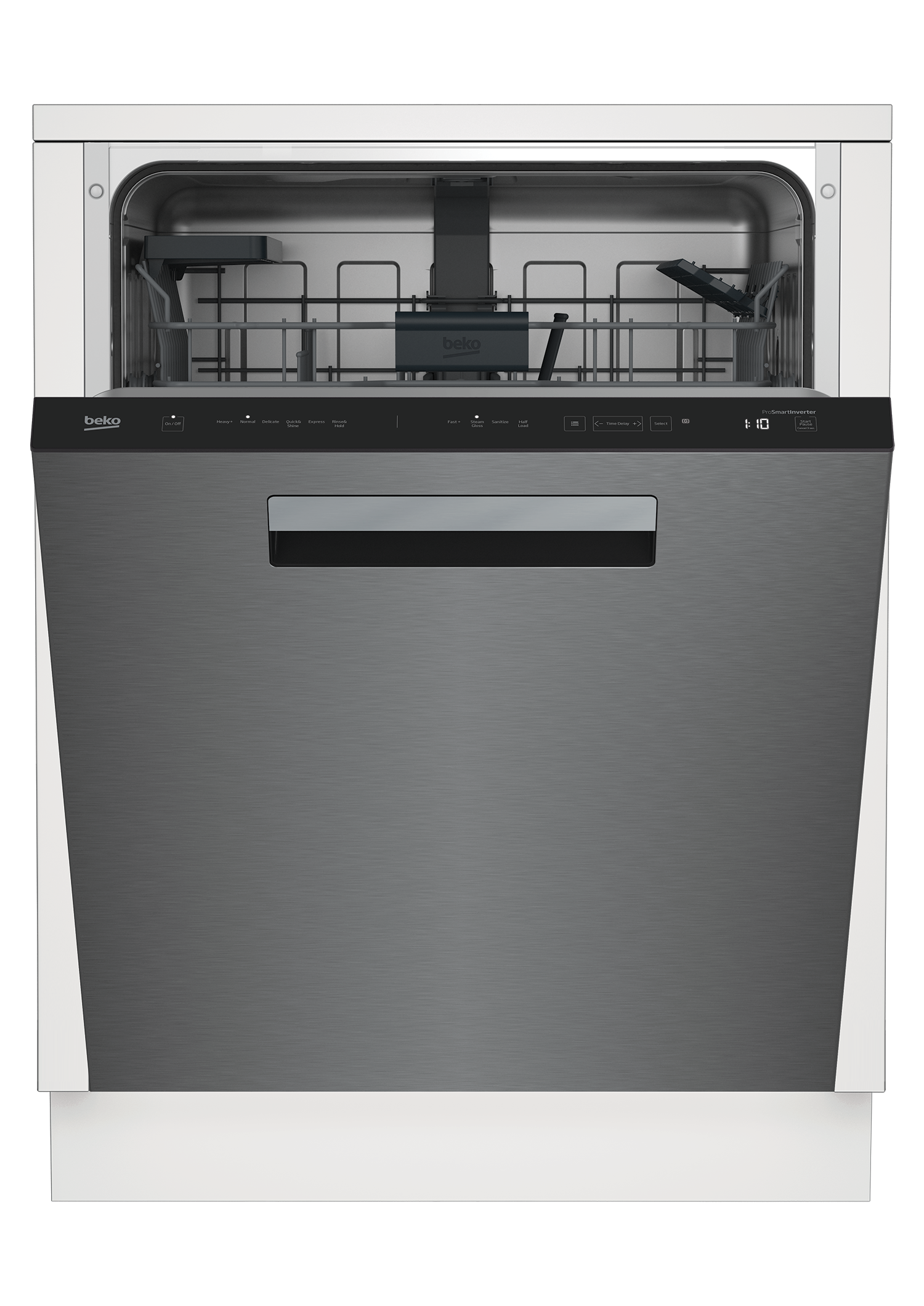 Tall Tub Stainless Dishwasher, 14 place settings, 45 dBa, Top Control with Pocket Handle DDT36430XIH