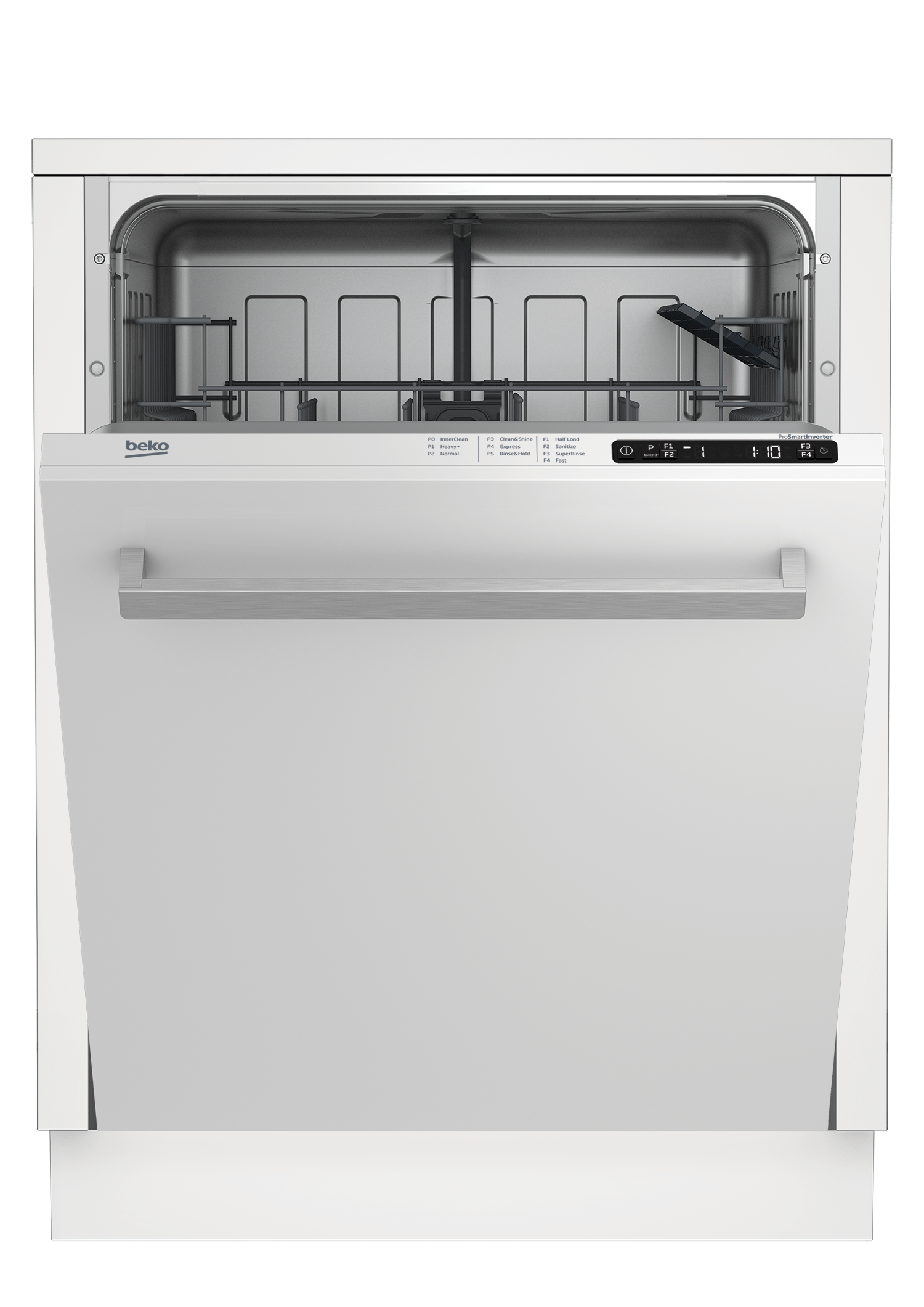 Tall Tub White Dishwasher, 14 place settings, 48 dBA, Top Control DDT25400W