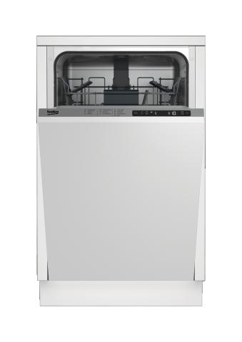 18 Inch Slimline Dishwasher – Panel Ready - DIS25841   BEKO