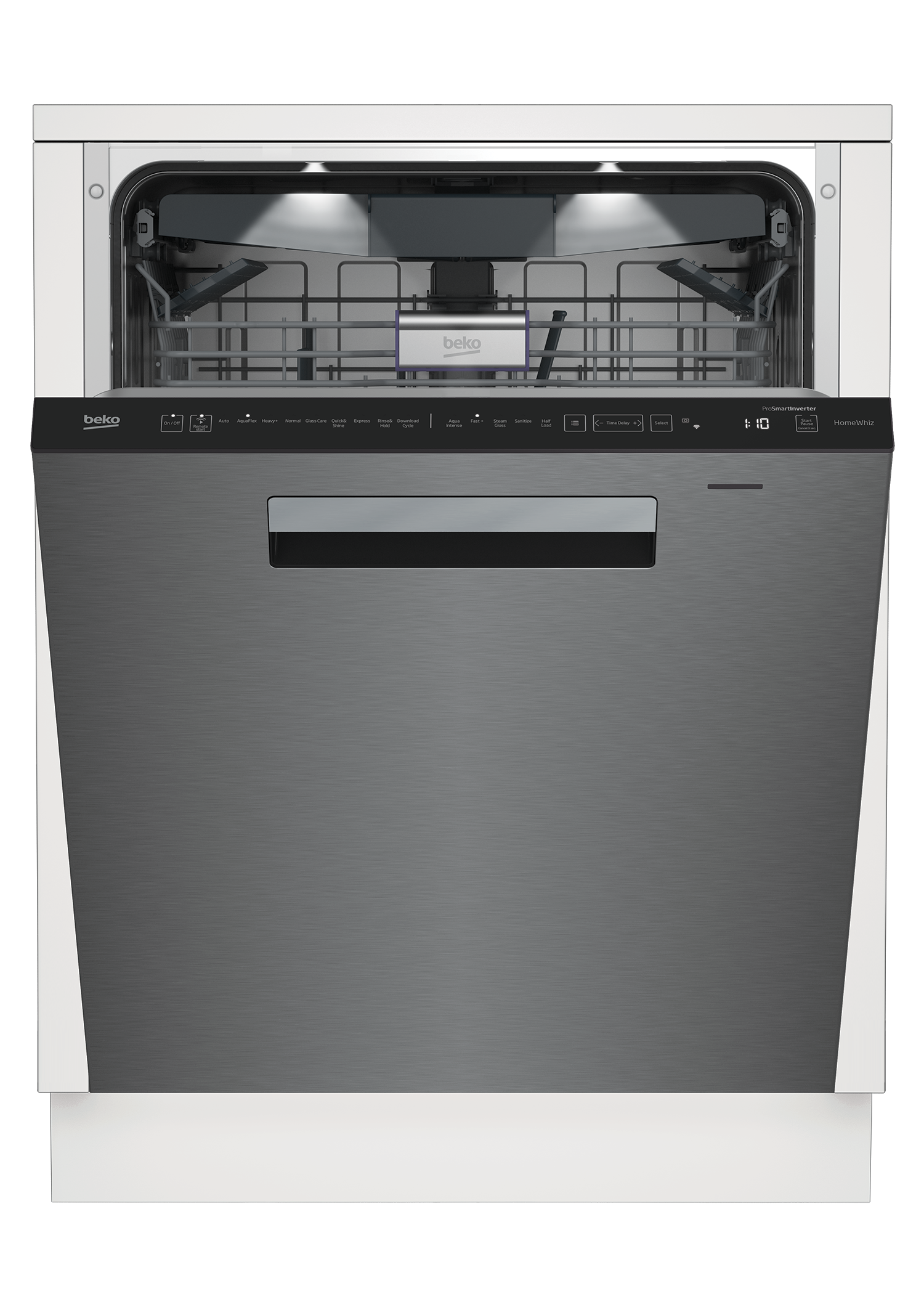 Tall Tub WiFi Connected Stainless Dishwasher, 16 place settings, 39 dBa, Top Control DDT39432XIH