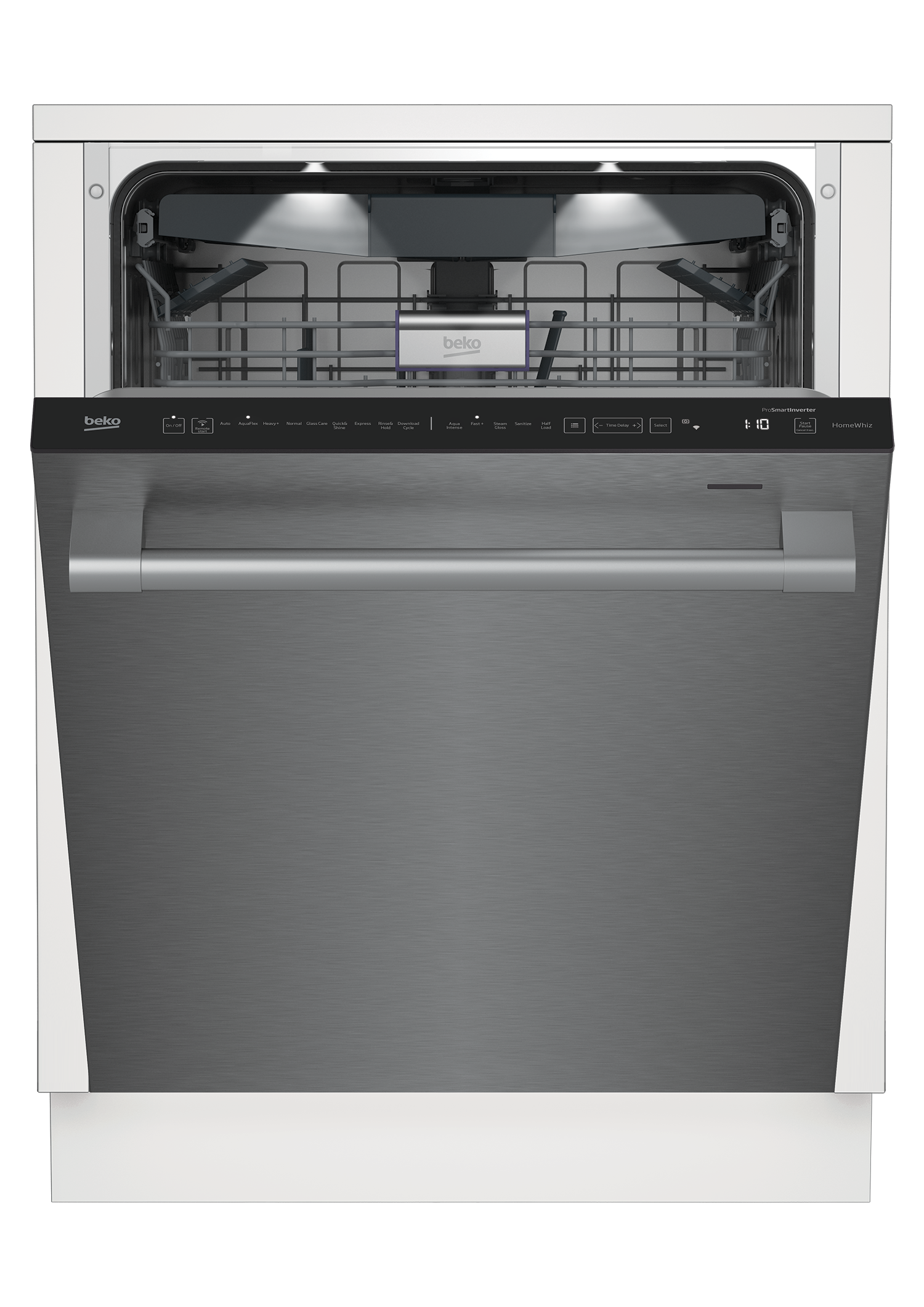 Tall Tub WiFi Connected Stainless Dishwasher, 16 place settings, 39 dBa, Top Control DDT39432X