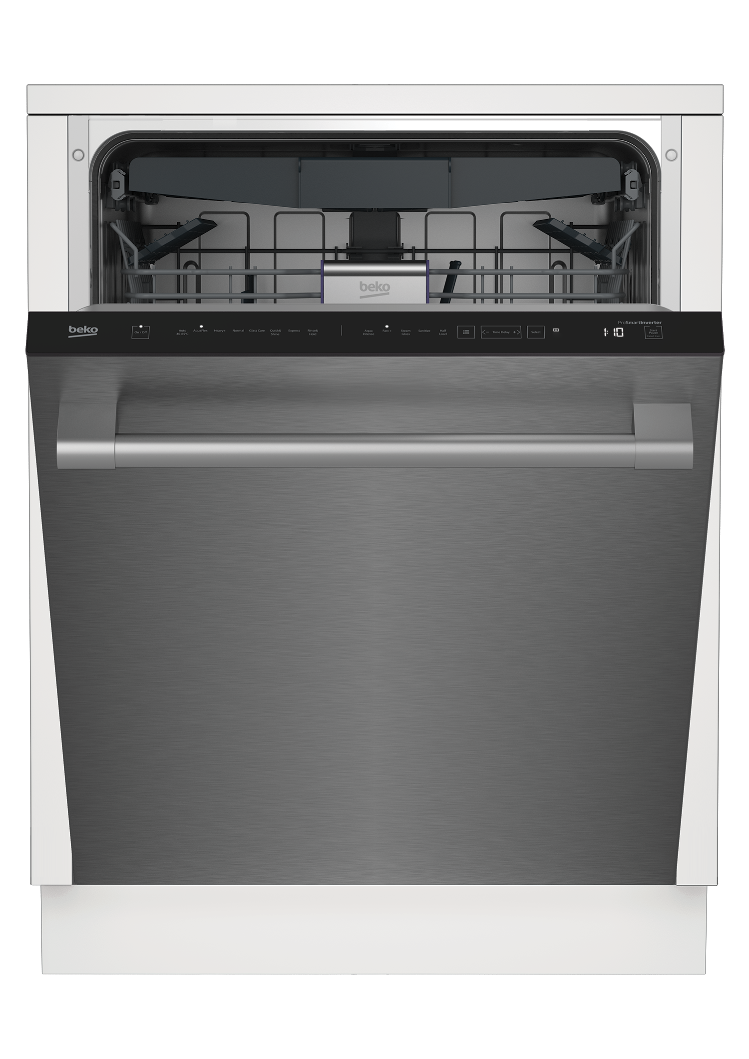 Tall Tub Stainless Dishwasher, 16 place settings, 45 dBa, Top Control DDT38530X