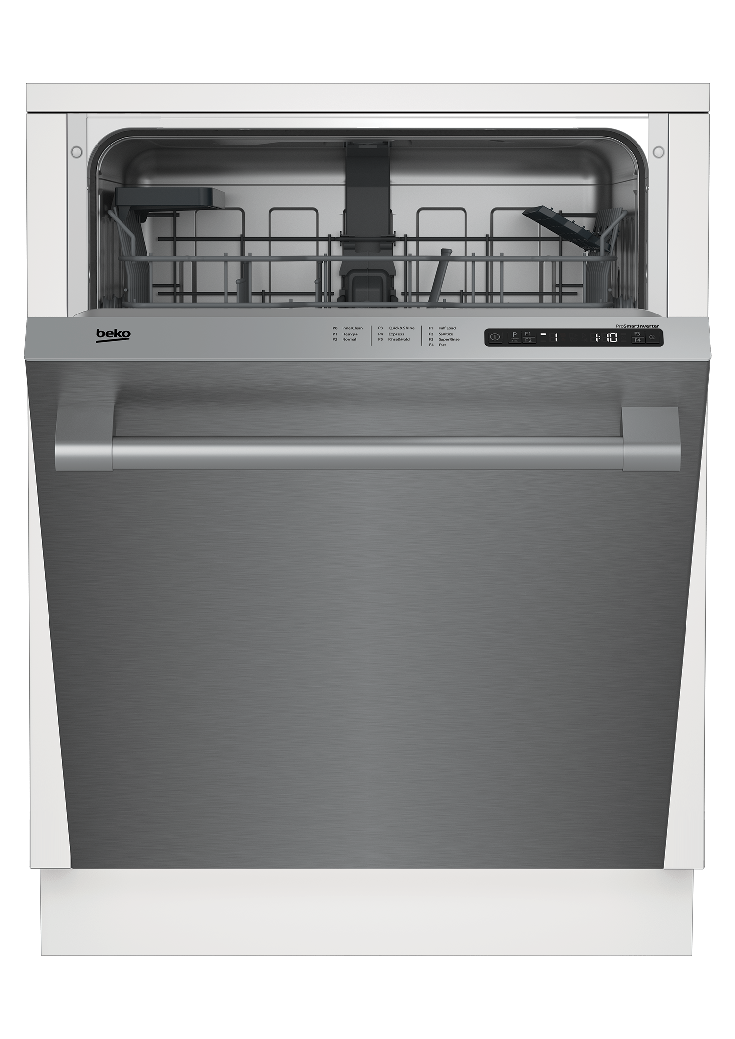 Tall Tub Stainless Dishwasher, 14 place settings, 48 dBa, Top Control DDT25401X