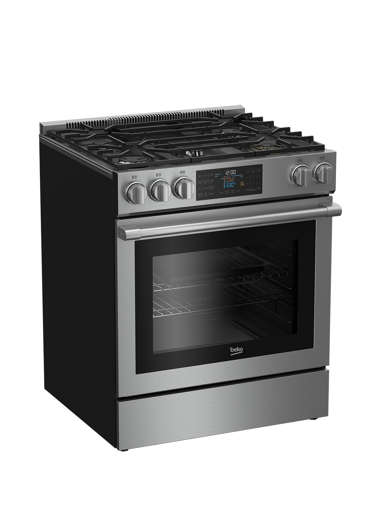 "30"" Stainless Steel Slide-In Gas Range SLGR30530SS"