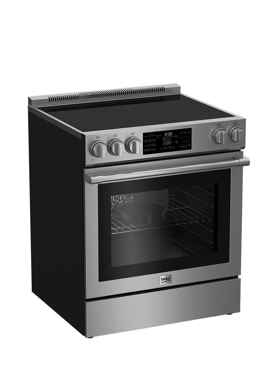 "30"" Stainless Steel Slide-In Electric Range SLER30530SS"