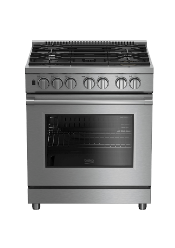 "30"" Stainless Steel Pro-Style Gas Range PRGR34550SS"