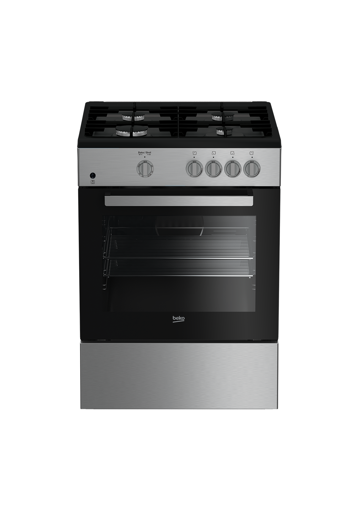 "24"" Stainless Steel Slide-In Gas Range SLGR24410SS"