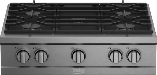 "30"" Stainless Steel Pro-Style Built-in Gas Range Top PRGRT30500SS"