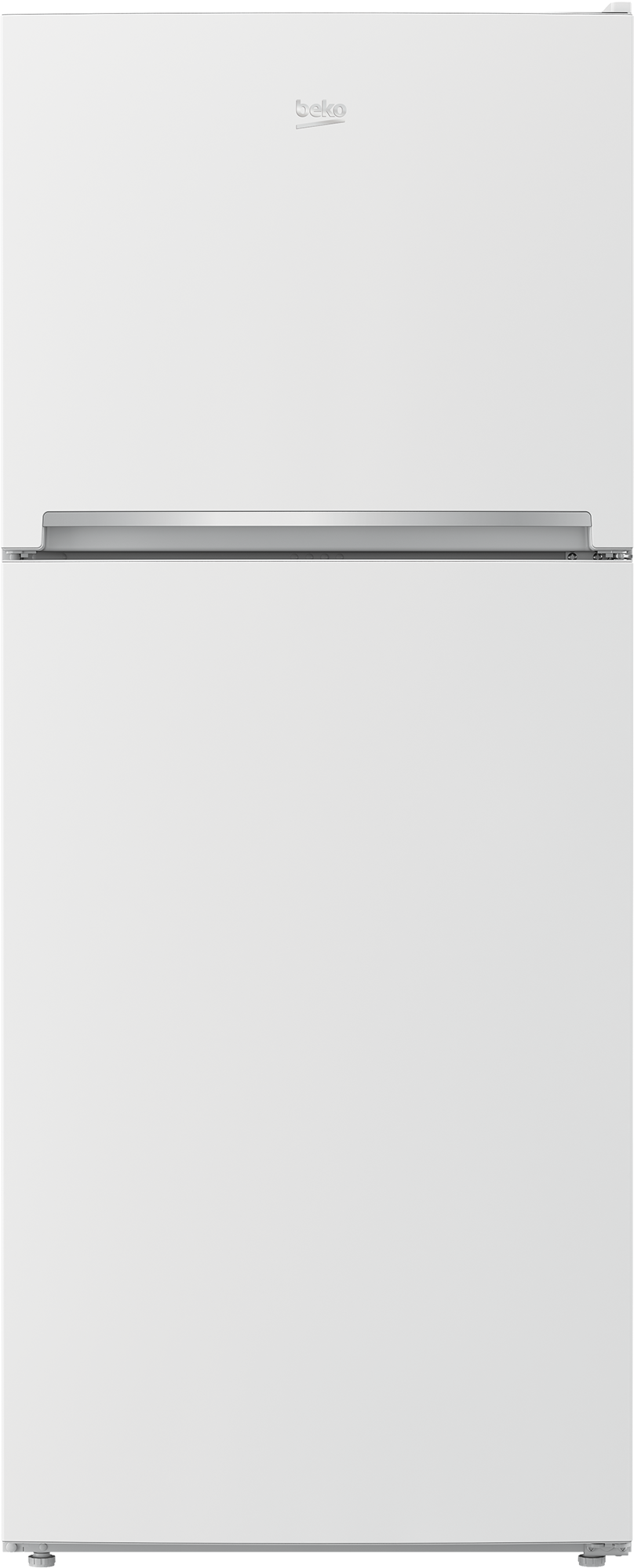28 Freezer Top White Refrigerator With Auto Ice Maker Bftf2716whim Beko